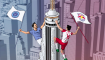 New York City FC vs New York Red Bulls posters