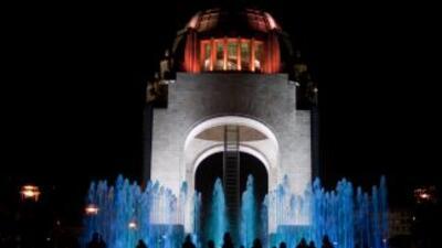 El Monumento a la Revolución en Ciudad de México.