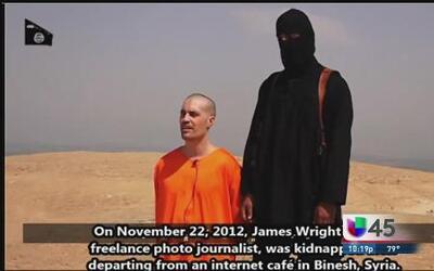 Extremista islámico ejecuta a periodista