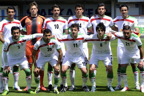 Irán está ubicada en el Grupo F de la competencia, al lado de la poderos...