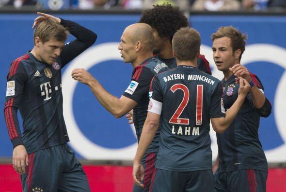 EL EQUIPO A VENCER: Sigue siendo el Bayern. El equipo de Pep Guardiola t...