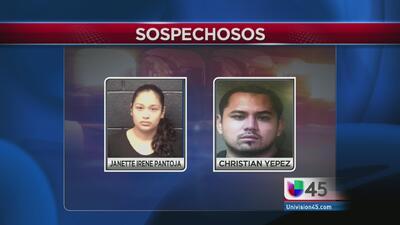 Madre y su novio acusados de matar a su hija