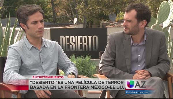 Jonás Cuarón y Gael García hablan del terror y dolor de la migración en...