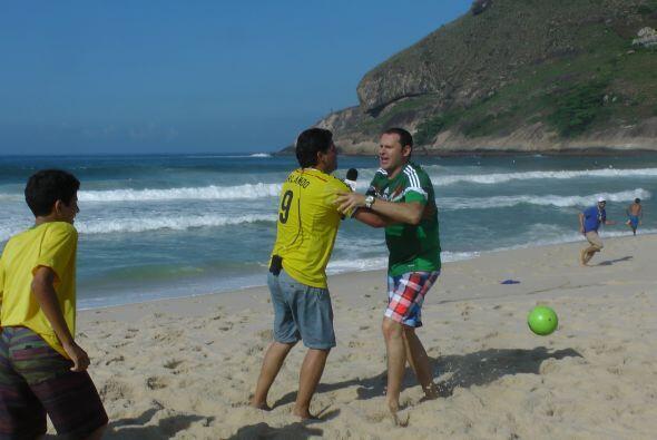 Alan no lo podía creer, estaba invicto 4 - 0 frente a la escuadra verde...