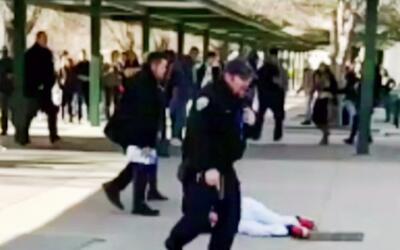 Estudiante amenaza a otros con cuchillo en mano en escuela de Reno