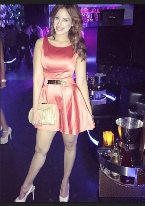 Con este vestido acudió a las audiciones de NBL y logró encantar a los s...
