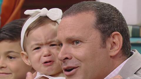 Alan Tacher protagoniza un momento de ternura máxima con su hija Michell...