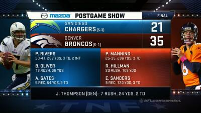 Highlights Semana 8: San Diego Chargers vs. Denver Broncos