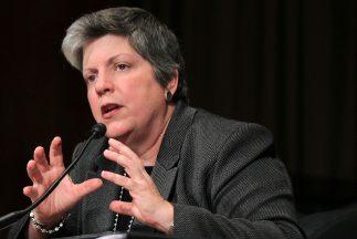 La jefa de la seguridad de Estados Unidos, Janet Napolitano.
