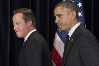 Barack Obama y David Cameron publican un artículo conjunto este jueves c...