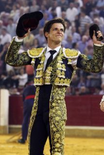 El torero madrileño Julian Lopez, 'El Juli', sufrió un accidente automov...