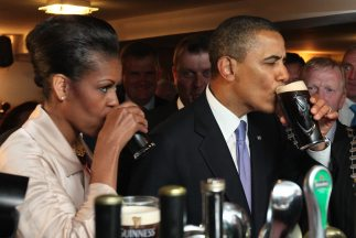 La cerveza se llama White House Honey Ale y el martes el presidente Bara...