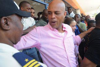 El cantante Michel Martelly se convirtió en presidente de Haití.