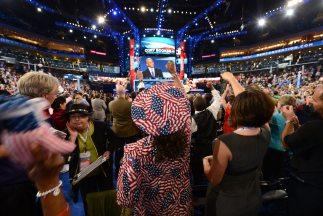 El Presidente Barack Obama iba a dar su discurso este jueves por la noch...