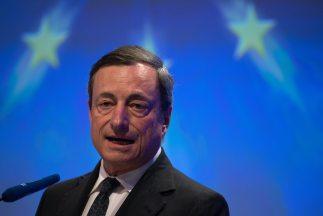 Draghi aseguró que este anuncio no respondía al que había hecho previame...