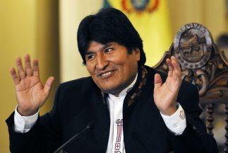 """El presidente de Bolivia Evo Morales admitió que ya se halla """"en campaña..."""