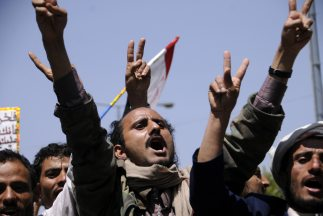 Supuestos miembros de la red terrorista Al Qaeda en Yemen.