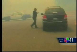 Arremeten incendios forestales en Texas