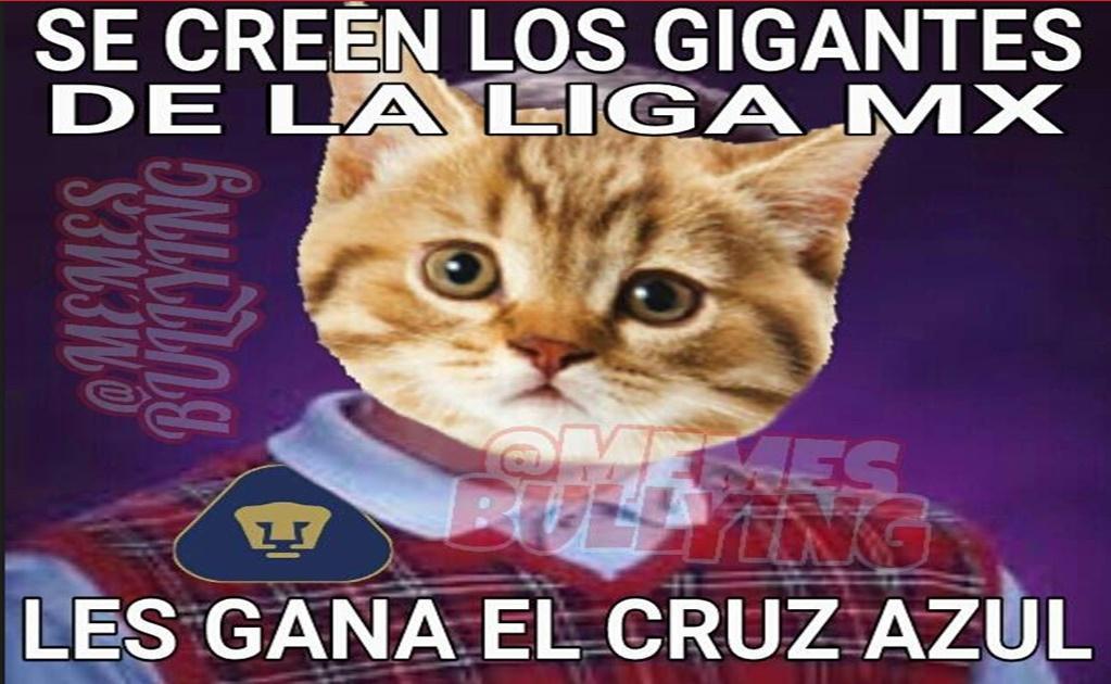 Los memes no perdonaron a Pumas por perder ante el Cruz ...