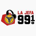 Logo Dallas La Jefa 99.1FM