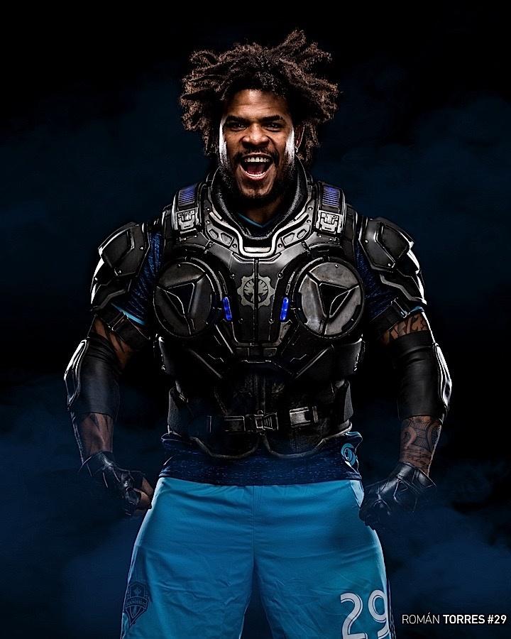 Seattle Sounders Volverá A Utilizar Camiseta Inspirada En 'Gears Of War 4'