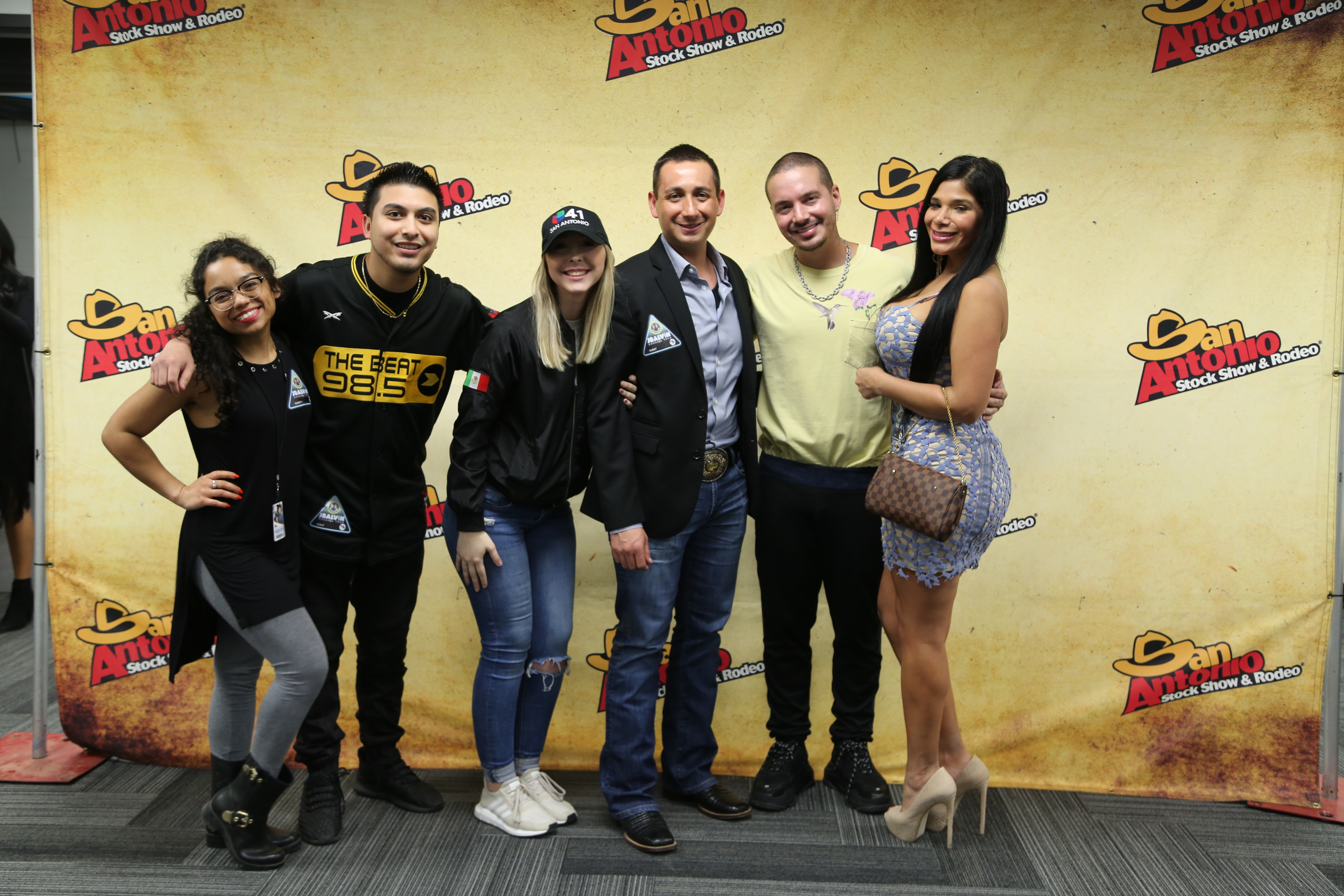 Meet And Greet With J Balvin 985 The Beat Univision