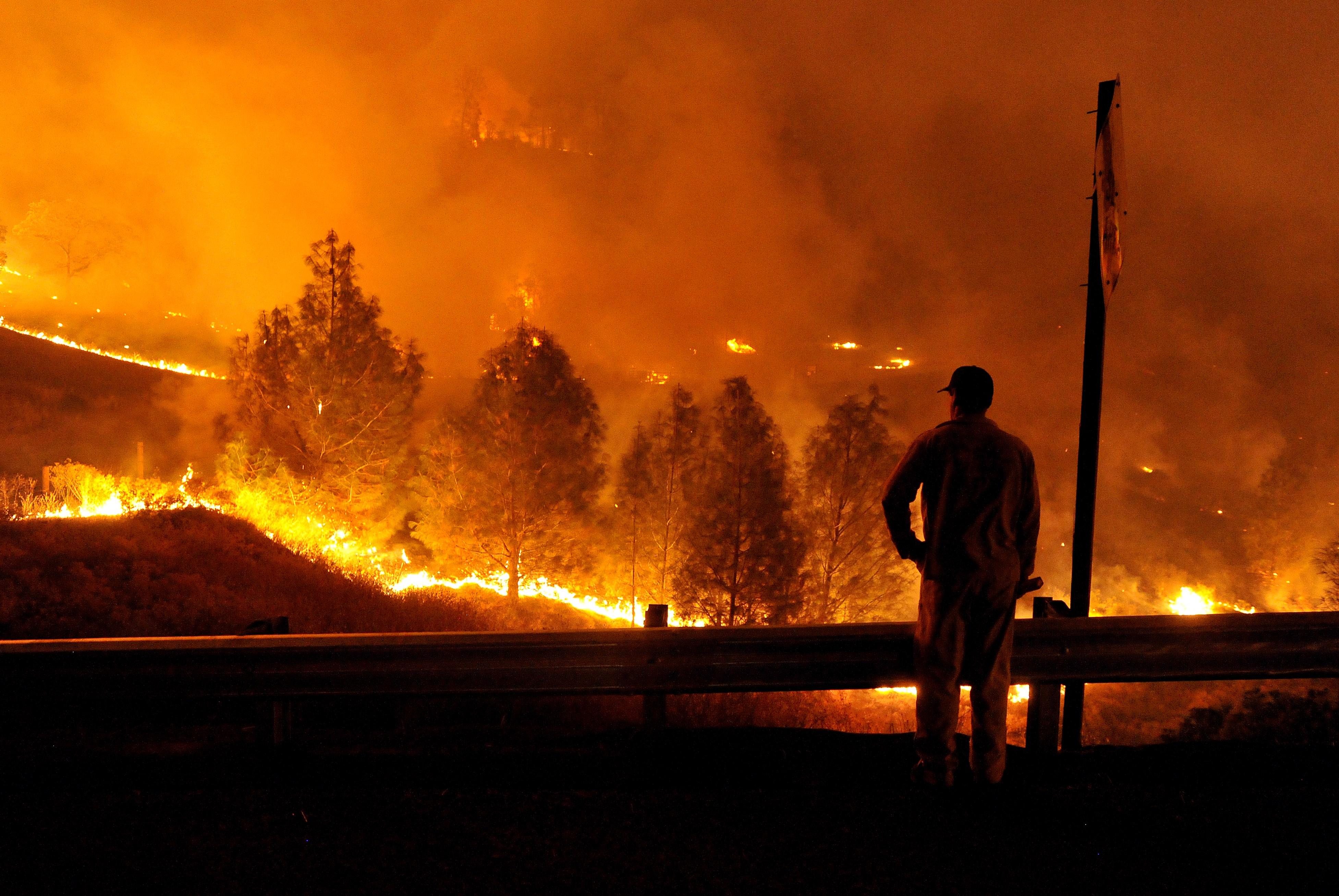 Resultado de imagen para incendio forestal san luis obispo california
