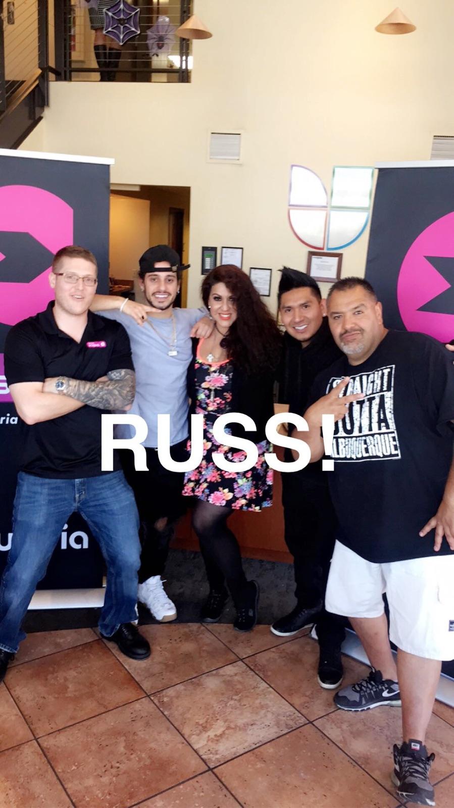 Russ Meet Greet Univision