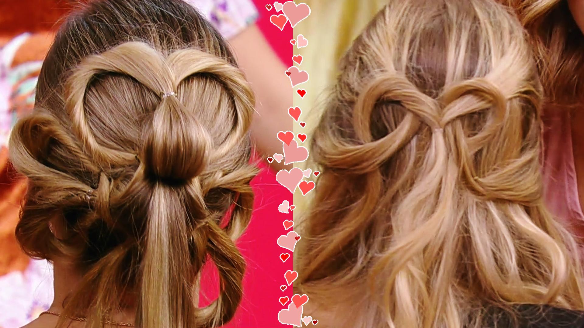 Ponle todo tu corazón a estos románticos peinados para celebrar el Día de San Valentín