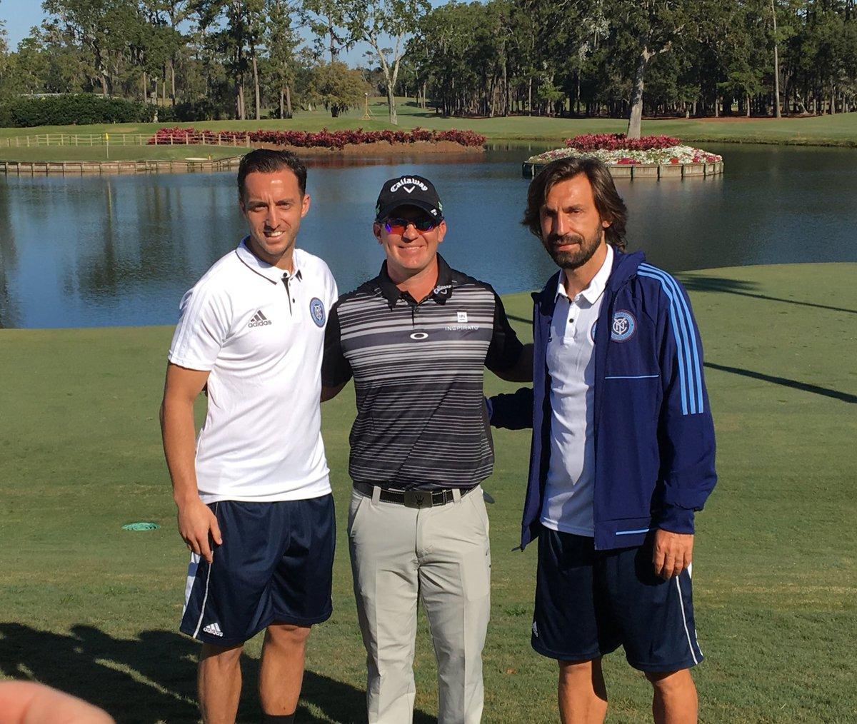 "Andrea Pirlo Se Deleita ""en El Templo Del Golf"" Del Players Championship Del PGA Tour"