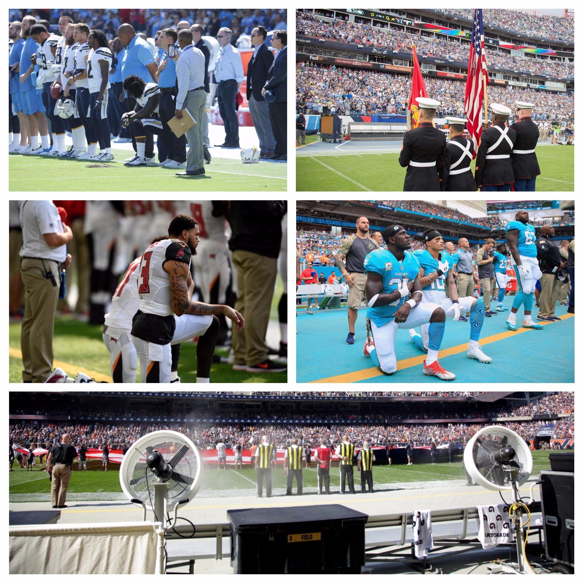 En Una Semana Marcada Por Las Protestas, Estos Son Los Resultados De La NFL