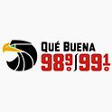 Logo San Francisco Qué Buena 98.9 & 99.1
