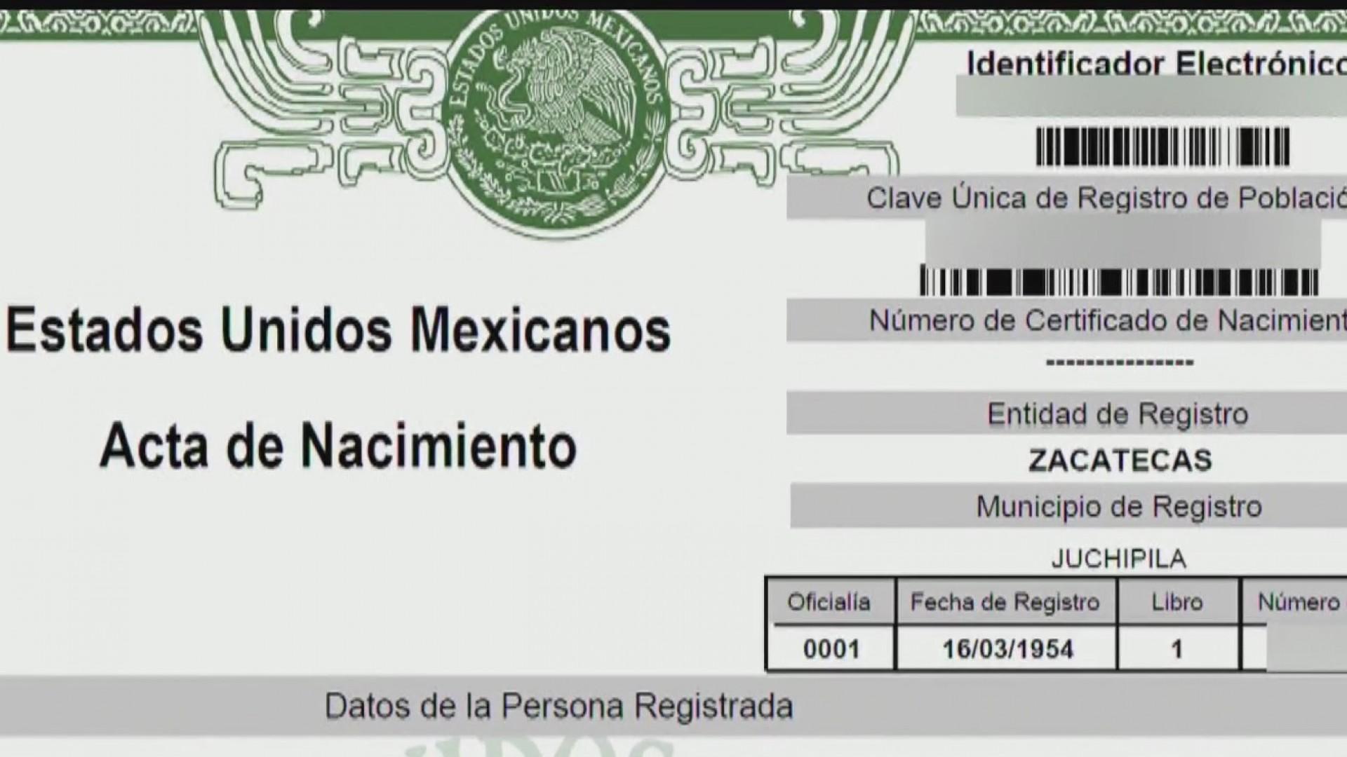 Ahora los mexicanos pueden solicitar su acta de nacimiento en línea ...