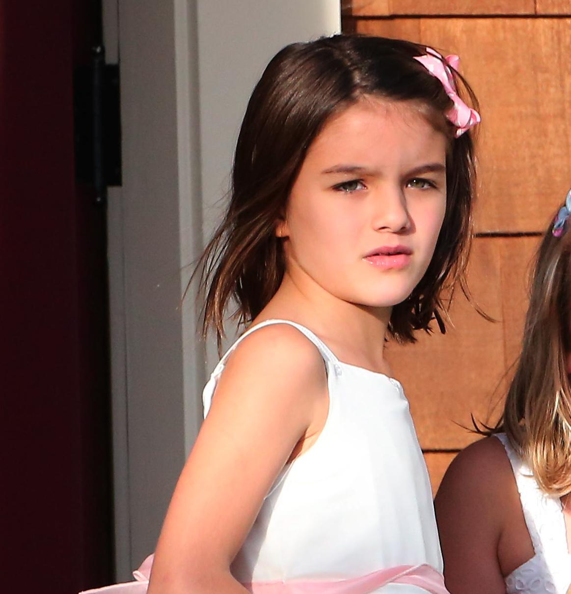 Mira Cómo Ha Crecido La Hija De Tom Cruise Y Katie Holmes, Suri Cruise