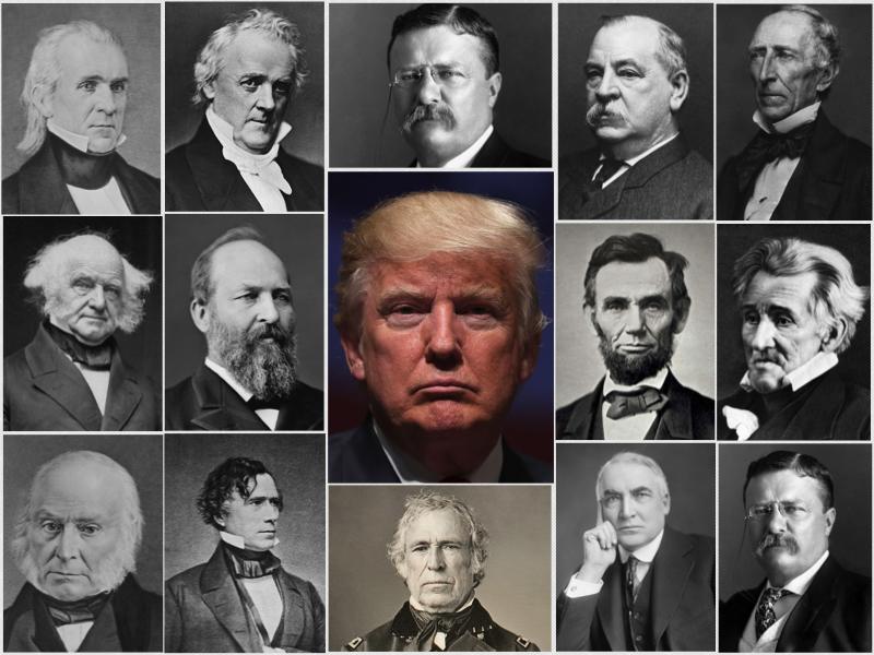 Presidentes De Eeuu Donald Trump Presidente N 250 Mero 45
