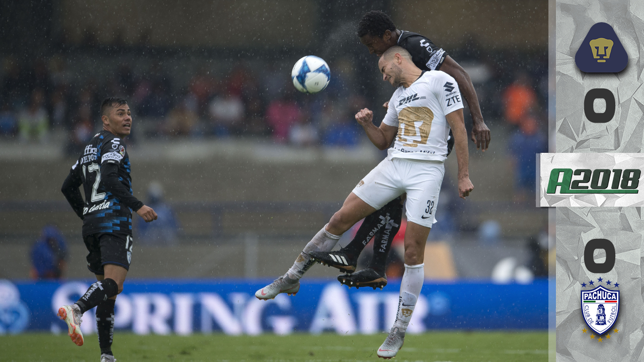 Yawning match: Pumas and Pachuca do not go from 0-0 in boring encounter