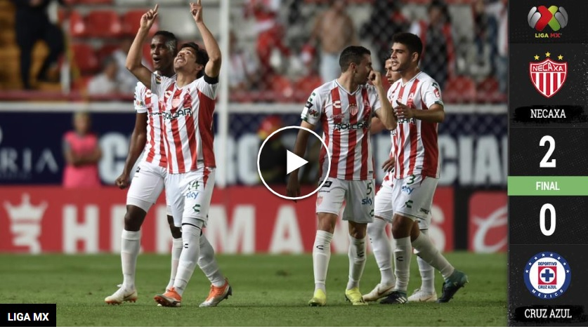 Rays and Sparks! Necaxa takes the Blue Az unbeaten