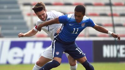 EEUU vs. Inglaterra Toulon 2015