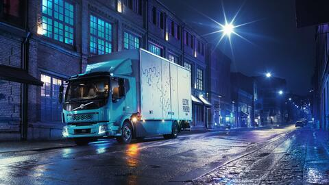 Volvo FL Electric, estará disponible en 2019 en Europa.