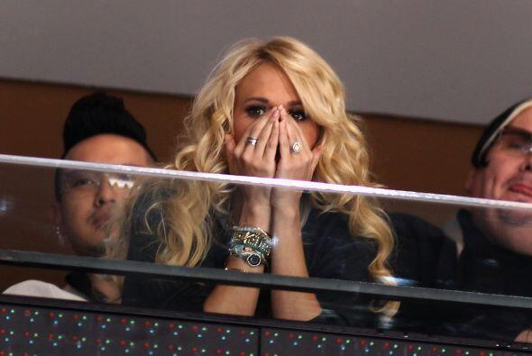 como la cantora Carrie Underwood...