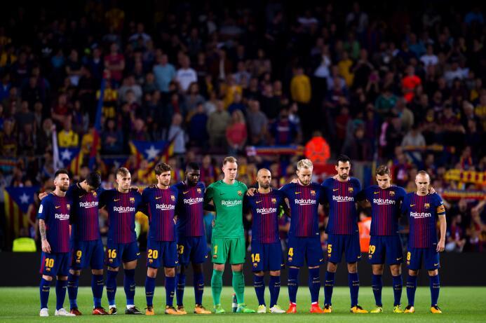 ¿Contra quién jugaría el Barcelona si Cataluña se separara de España? ge...