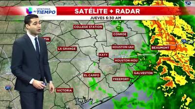 Emiten advertencia de fuertes vientos en Houston hasta el viernes por la tarde