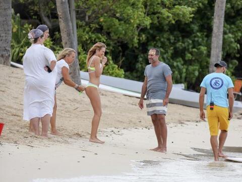 La modelo Candice Swanepoel no para de trabajar y seguir cosechando &eac...