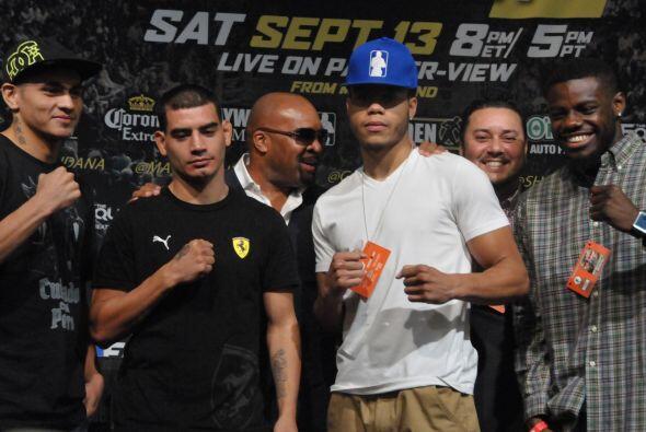 En las primeras peleas estrá el hermano de Marcos MAidana, Fabi&a...