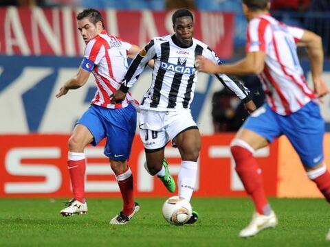 El Atlético de Madrid recibió al Udinese en la Liga Europa...