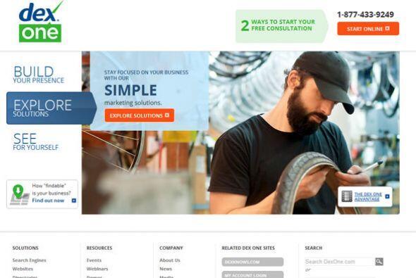 DEX ONE- La compañía de mercadotecnia está solicitando: Ejecutivo de cue...