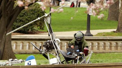 Se presenta en Corte el piloto del helicóptero que aterrizó en los jardi...