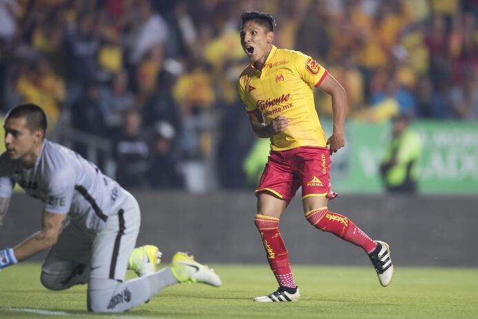 El peruano Raúl Ruidíaz, de gran rendimiento con Morelia (20 goles), par...