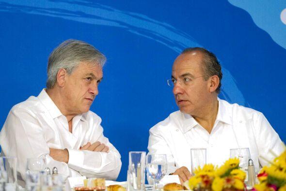 Adicionalmente, el presidente Calderón Hinojosa exhortó a intensificar l...