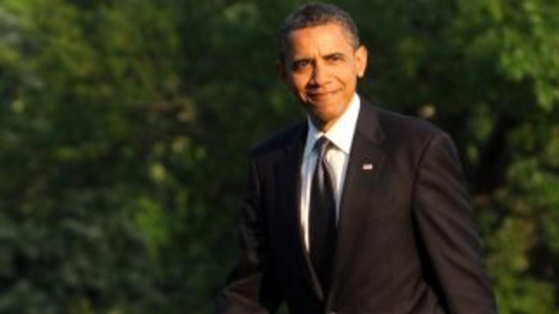 Entre los manifestantes se encontraba el ahora presidente de EU, Barack...